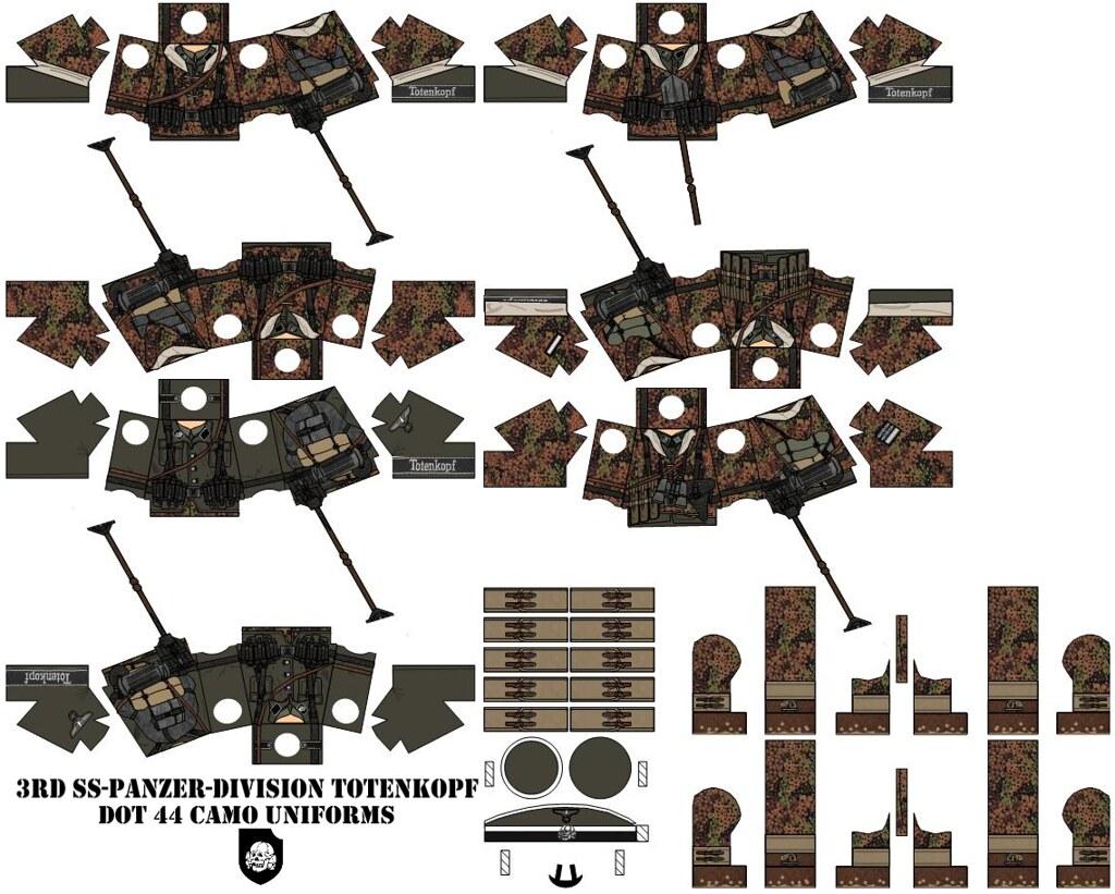 3rd ss panzer division totenkopf by desert fox customs
