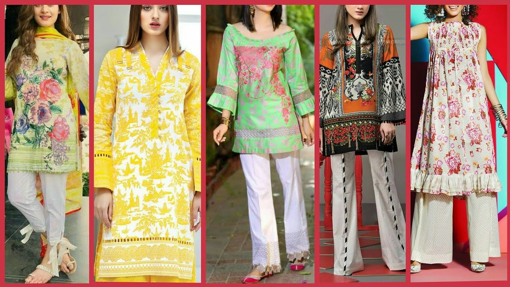 fdfd3190fe ... Latest Top Stylish Designer Printed Lawn Dress Designs With Classy  Stitching 2018 | by The Beauty