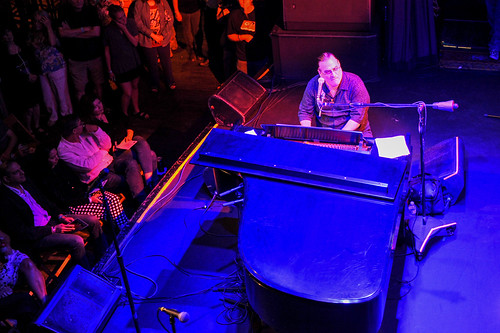 David Torkanowsky's guest at WWOZ's 30th Annual Piano Night - April 30, 2018. Photo by Michael E. McAndrew Photography.