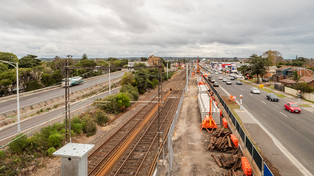 Frankston from the bridge