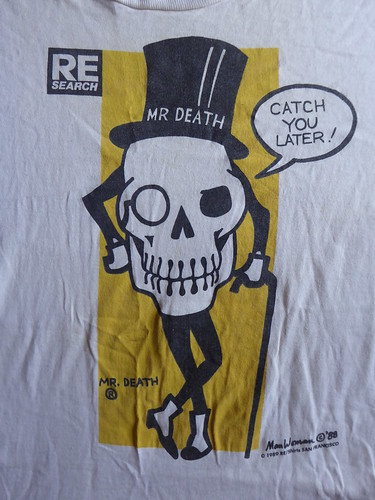 Re-Search's Mr. Death Tee Shirt