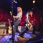 Tue, 08/05/2018 - 5:09pm - Belly (Tanya Donelly, Gail Greenwood, Thomas Gorman and Chris Gorman) is back in 2018, performing at Rockwood Music Hall in New York City and on WFUV Public Radio. 5/8/18 Photo by Gus Philippas