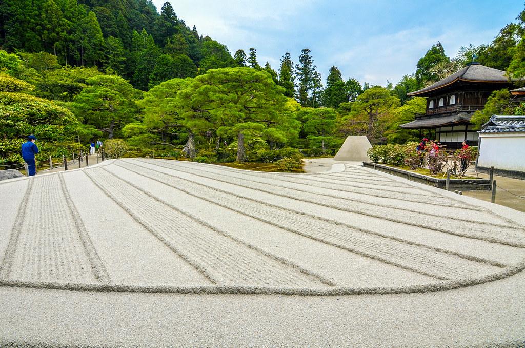 Sand garden Silver Pavilion