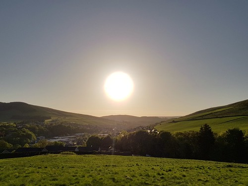 sunset scottishborders galashiels ladhoperecreationground goldenhour