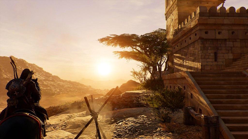 Assassins Creed Origins Bayek Of Siwa Ingame Photograp