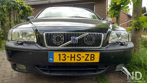 Volvo S80 2.4T Hella Horns mod (white) | by ND-Photo.nl