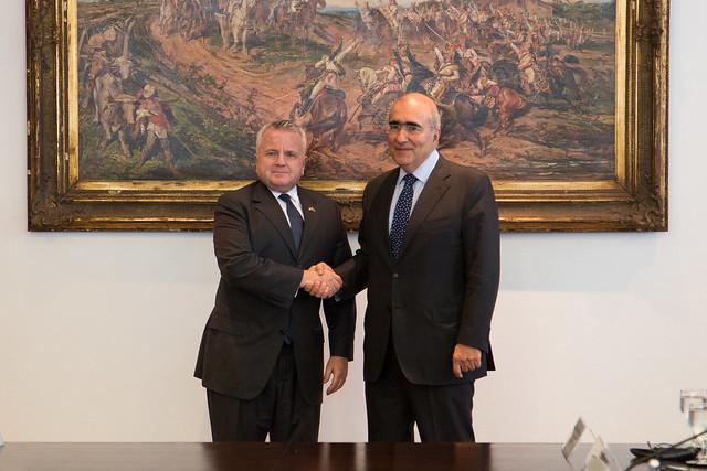 Visita do vice-secretário de Estado dos Estados Unidos, John J. Sullivan, ao Brasil