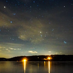 Stars above a Lake