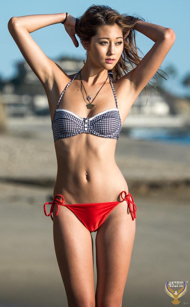 Beautiful Asian Bikini Model Goddess! 45Epic 45SURF Swimsu