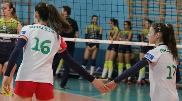 Serie C Stagione 2017/18 - 5 Maggio 2018  -Bracco Pro Patria - Lazzate Volley 0 - 3