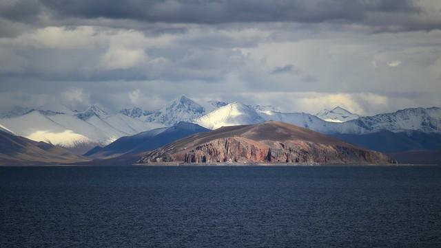 Tashi Dor Peninsula at Namtso Lake, Tibet 2017