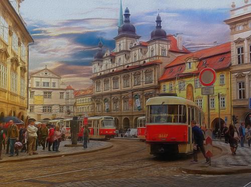 Prague, Old Town, Street Scene