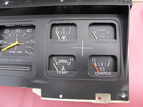 RCCI gauge installed in the panel | by WY0WDR