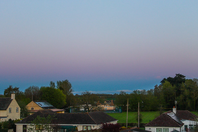 Belt of Venus from Oxfordshire 22/04/18