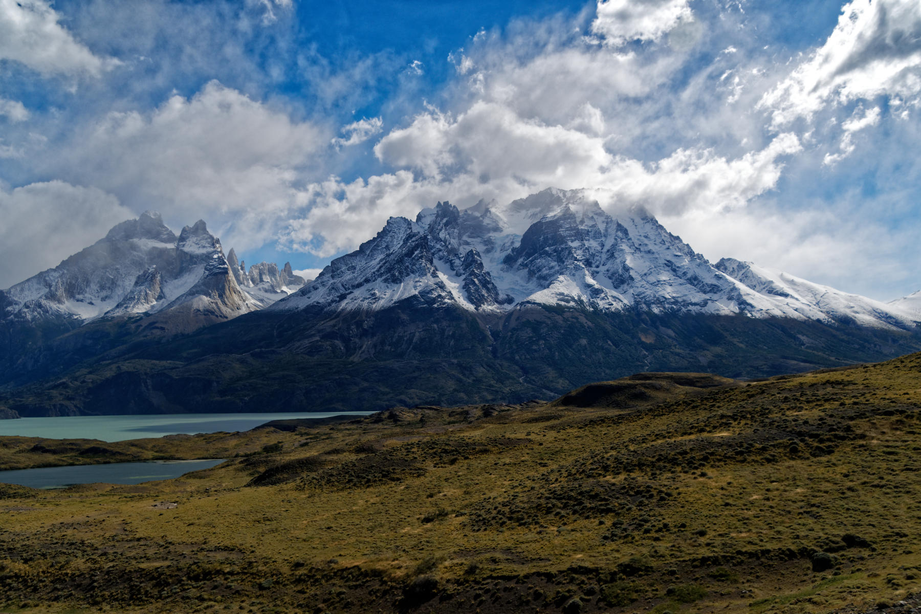 Scenery in Torres del Paine National Park