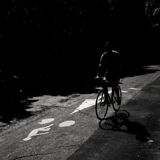 Cyclist ( serie black texture )