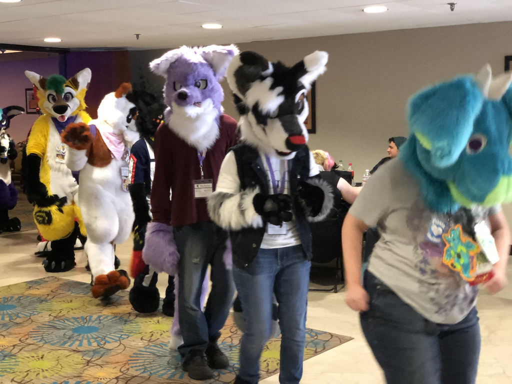 Fursuit Parade | Pine Fur Con is a furry convention held in