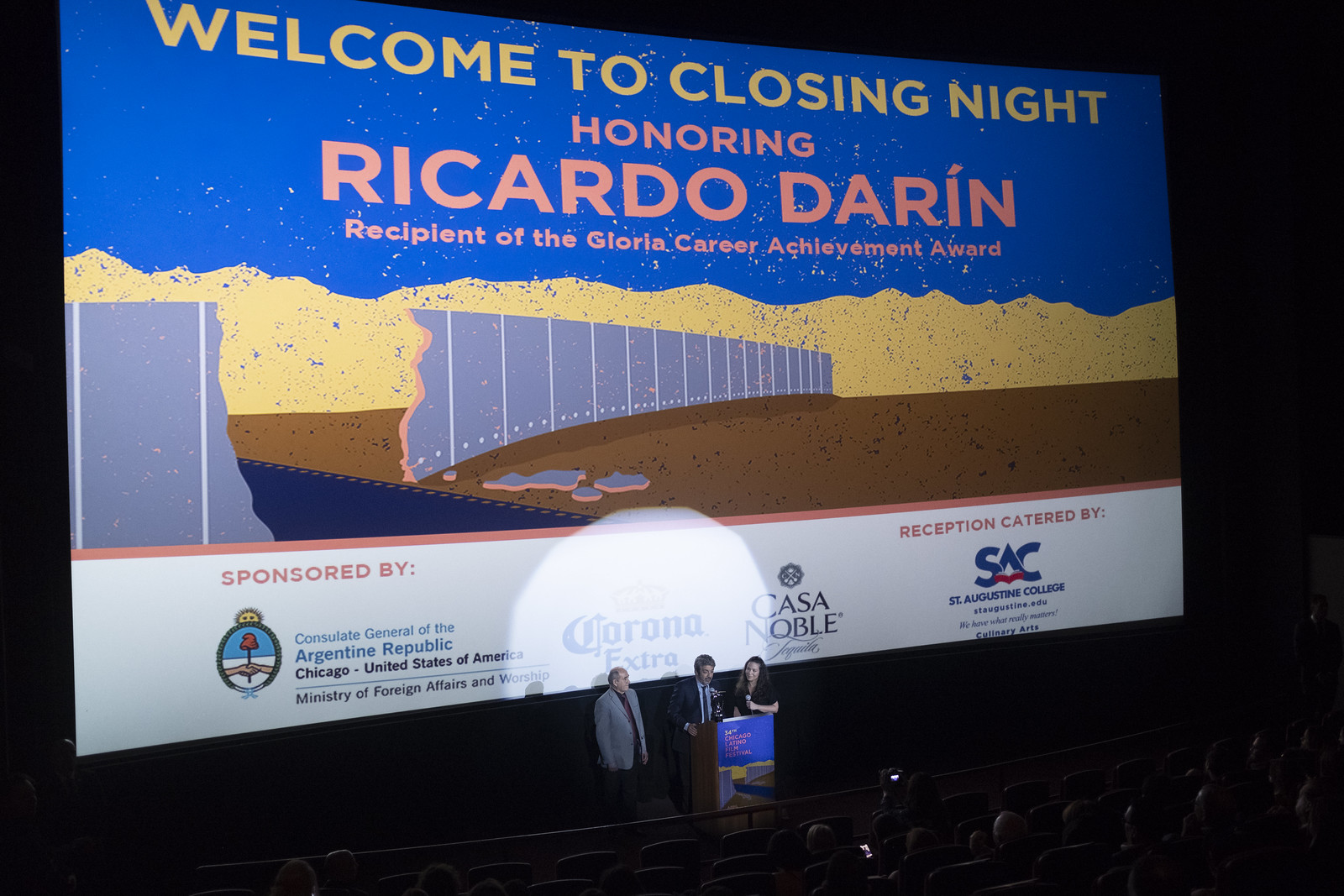 34th CLFF- Closing Night: Honoring Ricardo Darín
