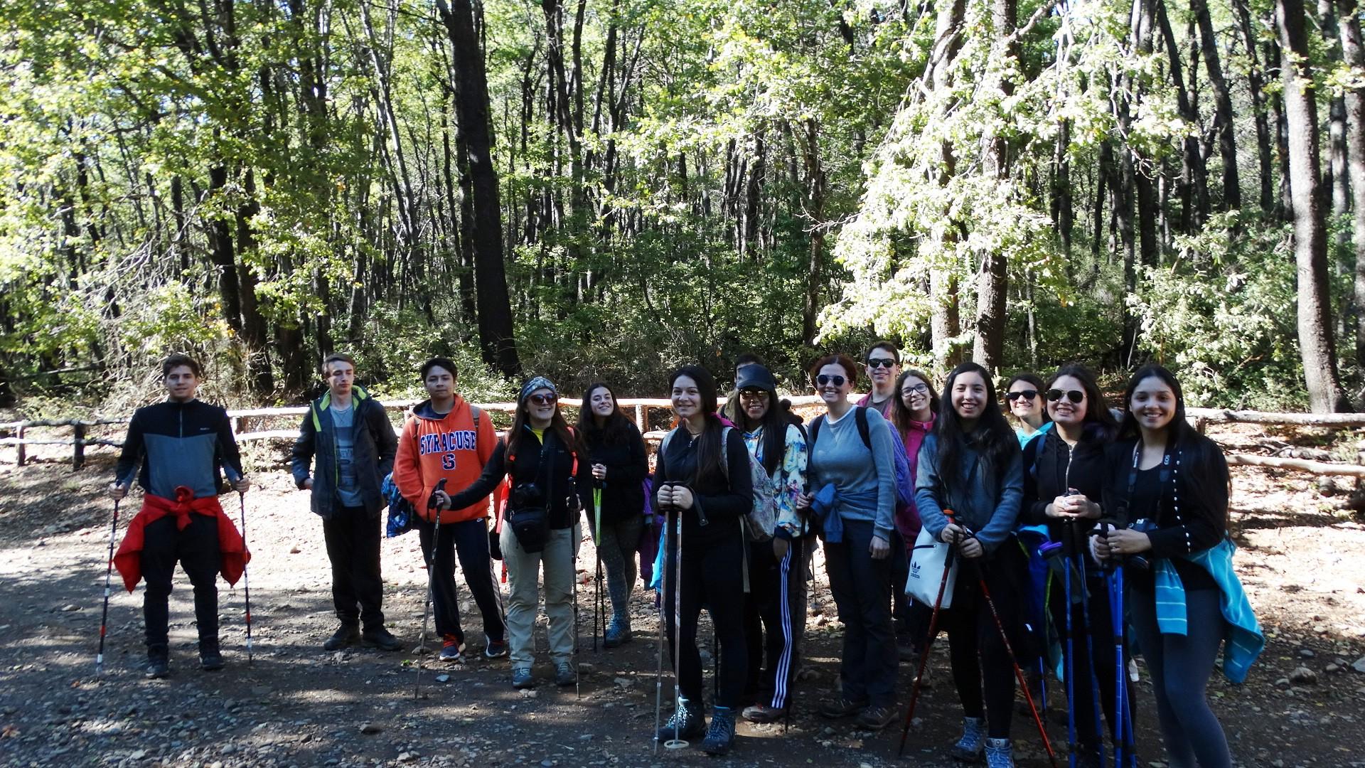 Salida a terreno: Reserva Nacional Altos de Lircay
