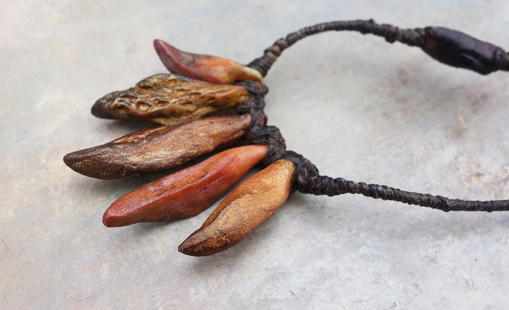 earthfruit necklace by greybirdstudio
