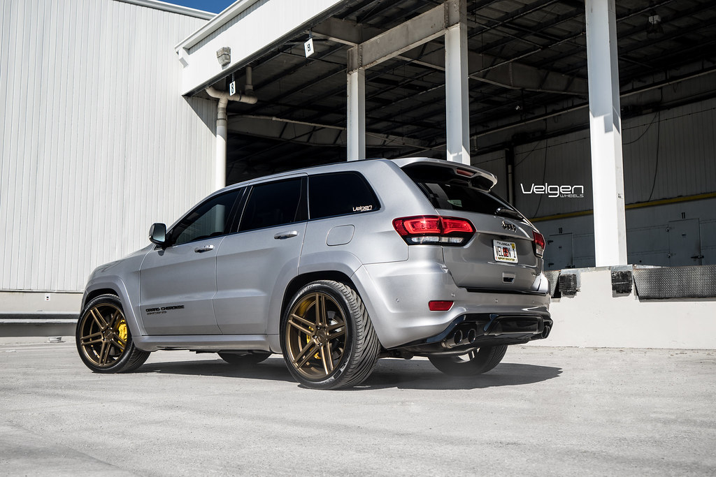 Custom Jeep Grand Cherokee >> JEEP TRACKHAWK VELGEN WHEELS SPLIT5 22"