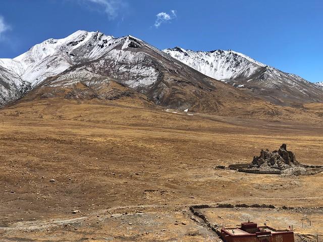 Paisaje típico del Tíbet