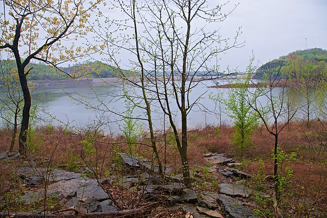 Center Hill Lake near Cookeville, Tennessee