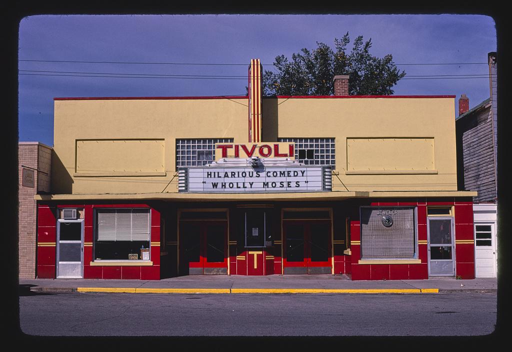 Tivoli Theater, Stephenson, Michigan (LOC)