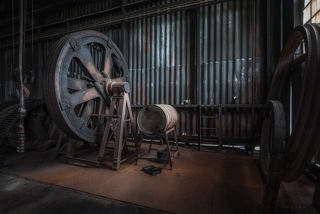 ungeschmiertes Rad quietscht oder Sonntag`s stehen alle Räder still