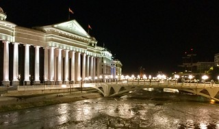 201705 - Balkans - Archaeology Museum and River - 91 of 101 - Macedonia Square - Skopje, Skopje, May 30, 2017   by mrflip