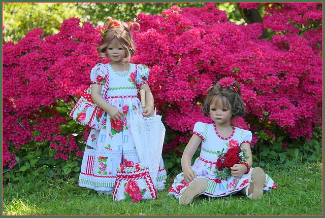 Anne-Moni und Milina ...