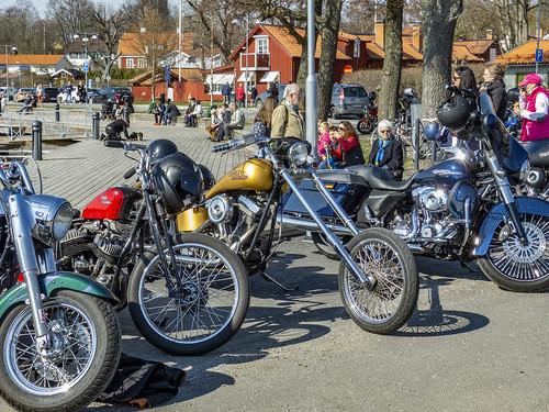 sigtuna sweden motorcycle harleydavidson l1290589