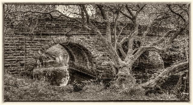Beldon Burn bridge