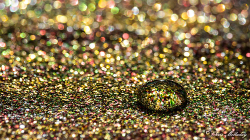 Droplet in Glitter 2 | by Chris Melladay