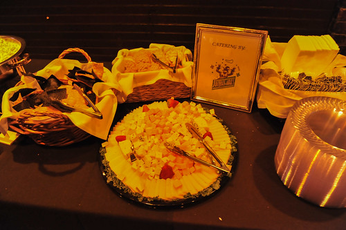 Catering at WWOZ's 30th Annual Piano Night - April 30, 2018. Photo by Michael E. McAndrew Photography.