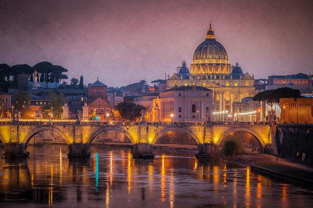 Ponte Umberto View - Textured HDR