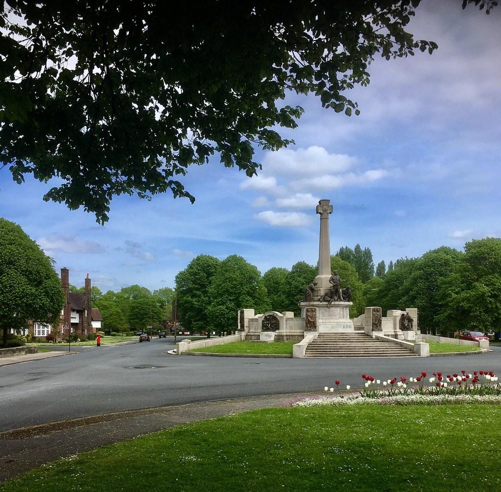 Port Sunlight village war memorial Wirral