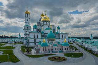 Воскресенский Новоиерусалимский монастырь. Истра.   by MagadaneC