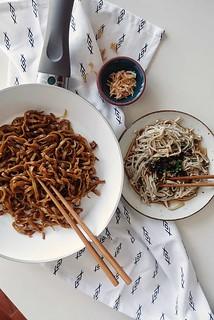 Noodles & Enoki   by meetandeats