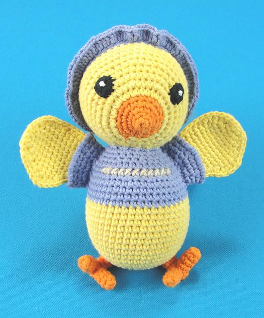 Crocheted Chicky (Gehaakt Kippetje)