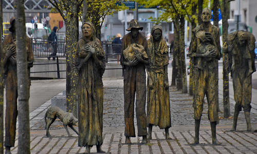 The Famine Memorial Dublin Ireland May 2018 | by Ron Cogswell