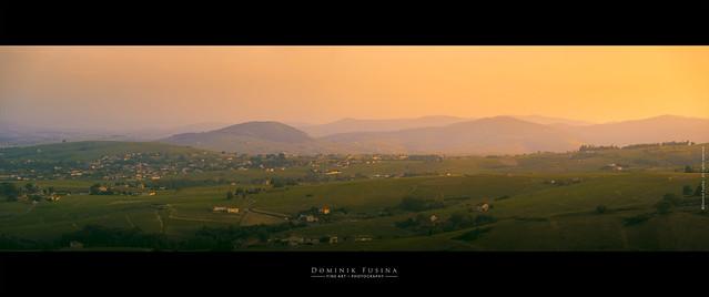 Beaujolais Sunset   Côte du Py & Mt Brouilly