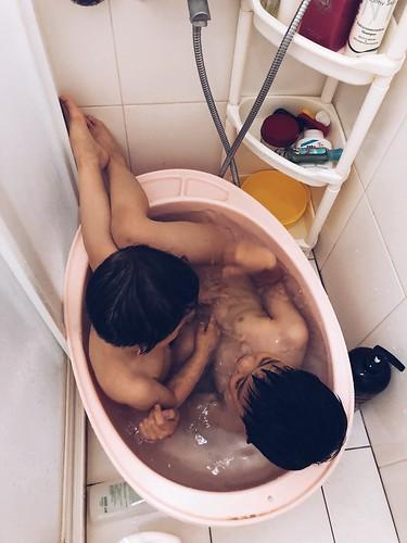 鴛鴦浴 (咦 109/365 107.5.10 四