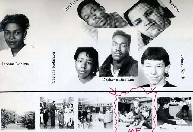Cincinnati ohio school year book 1992