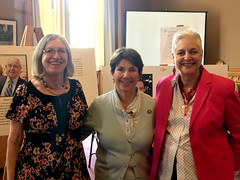 Rep. Livvy Floren at the Jewish Federation Association of CT Legislative Breakfast at the Capitol on May 3, 2018. The event marked the 175th of Synagogues becoming legal entities.