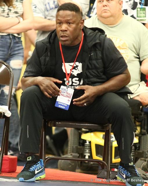 Coach Kevin Jackson. 180519BJF0069