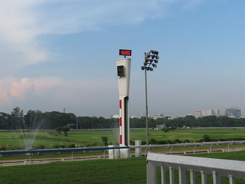 ロイヤルターフクラブ競馬場のゴール板
