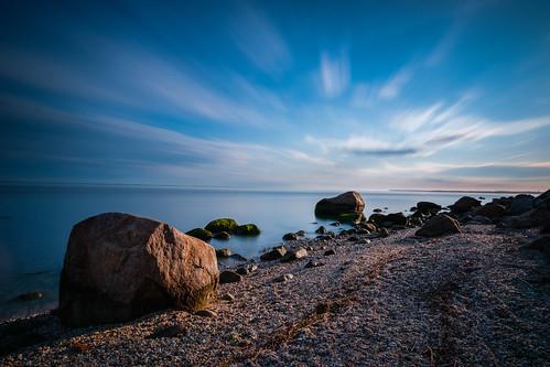 stone northfork xpro2 southold longisland fujifilm rocks hortonpoint beach landscapephotography sea fuji sky longexposure morning landscape clouds longislandsound newyork unitedstates us