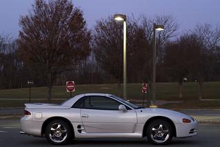 3000GT VR4 Spyder - Side Profile