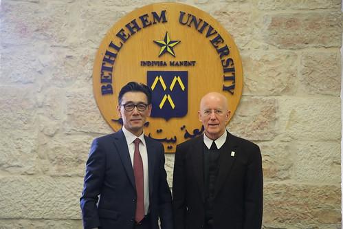 Korean Delegation on Campus
